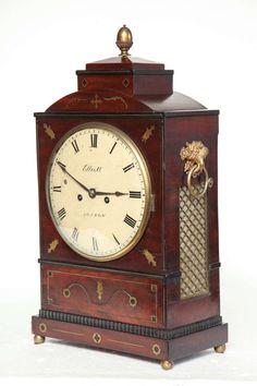 19th Century English Regency Bracket Clock 2