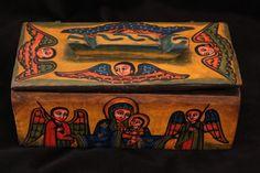 Schmuckkästchen, Schmuck Box, Äthiopien! Ethiopia, jewelry box, wooden box