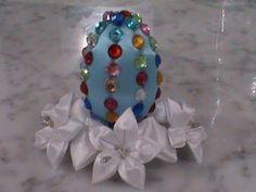 Декоративное пасхальное яйцо в стиле Фаберже.