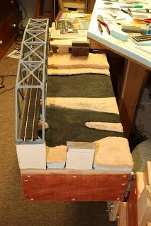 Dean's Model Railroad: Building a swing gate with bridges. Ho Scale Train Layout, Ho Scale Trains, Ho Trains, Model Train Layouts, Model Trains, Trains For Sale, Standard Gauge, Models, Bridges