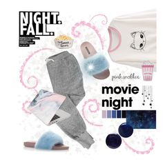 """Movie night 🎬🎥🌌"" by anduu19 on Polyvore featuring V::ROOM, Lauren B. Beauty, RGB, Dolce&Gabbana and Recover"