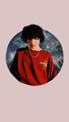 Finn Wolfhard wallpaper. @myrandomfanarts1 on ig