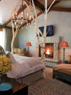 35 Ideen Für Birkenstamm Deko   Bringen Sie Die Natur In Ihre Wohnung   Deko  U0026 Feiern | Cabin, Woods And Interiors