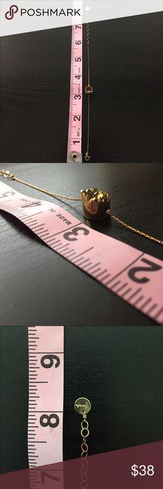 Marida - Bracelet Gold dainty bracelet with beautiful natural stone. Jewelry Bracelets
