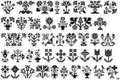 Swiss Folk Ornaments Floral