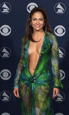 J. Lo at the Grammy Awards