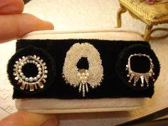 Miniature jewelry by Chanel Harmon