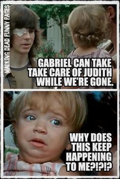 My thoughts exactly! #TWD