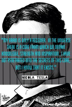 #Tesla I love the beauty ilies in the fact the fact that we will never know all of the answers, it makes love seem so much more infinite and sacred...