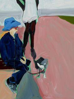 Chantal Joffe, Pinky, Oil on board. Courtesy the artist and Victoria Miro Gallery, ©Chantal Joffe Historical Painting, Female Art, Artist Models, International Art, Art, Chantal Joffe, Portrait, Outsider Art, Portrait Gallery