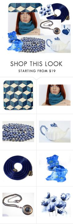 """Into the blue!"" by colchico ❤ liked on Polyvore featuring vintage"