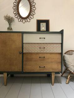 Commode vintage Mathilde - Mobilier vintage relooké et personnalisé