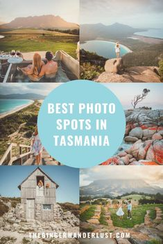 best photo spots in Tasmania, the most instagrammable locations! From cradle mountain, to bay of fires, to freycinet national park!