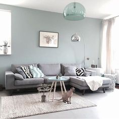 Having small living room can be one of all your problem about decoration home. To solve that, you will create the illusion of a larger space and painting your small living room with bright colors c… Living Room Interior, Home Living Room, Apartment Living, Apartment Kitchen, Kitchen Rug, Living Area, Kitchen Wood, Kitchen Carpet, Interior Livingroom
