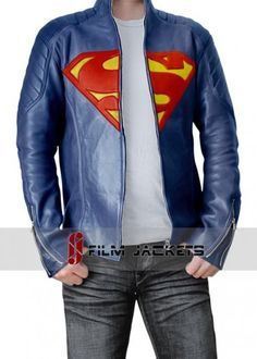 Fjackets produces this Man of Steel Superman Leather Jacket. It is a  fashionable piece made db88ad135ba