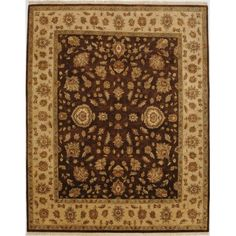 Hand Knotted Rug 8'X 10' 10/10   HOM Furniture