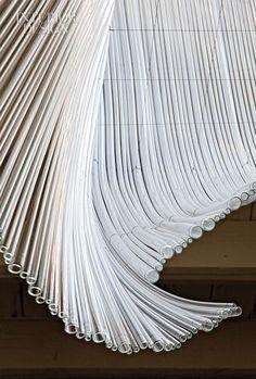 Glass sculpture by Nikolas Weinstein Studio for San Francisco's Bar Agricole
