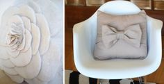 flower-and-bow-cushion-DIY image