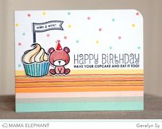 mama elephant | design blog: STAMP HIGHLIGHT: CARNIVAL TOPPERS
