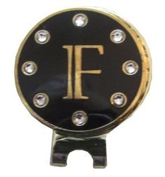 Check out our Initials Swarovski on Cloisonne Crystal Ball Marker & Visor Clips with Ball Markers! Find the best golf gear and accessories at Lori's Golf Shoppe. Click through now to see this Ball Markers!