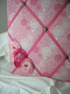 French Memo Board Project / 31 Days of Doilies blog series at Song of My Heart Stampers.