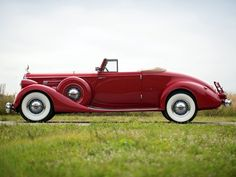 1936 Packard Twelve Coupe Roadster Maintenance of old vehicles: the material for new cogs/casters/gears/pads could be cast polyamide which I (Cast polyamide) can produce