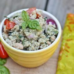 White Bean Quinoa Salad - Eating Bird Food