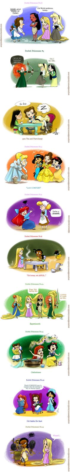 Pocket Princesses | Disney Princess | Know Your Meme