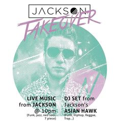 This is happening on the 15th of April! Playing #live in #bath at @thenestbath  Taking over the joint with a DJ set from @asianhawk001 an acoustic #piano set with @leytonford7 and myself as well as #JACKSON FULL live #band #performance  performing all the tracks from my 2 #ep's! #original #music #funk #soul #jazzfunk #groove #prog #keyboards #guitar #vocals #turntables #turntablism #bass #bassguitar #drums #sax #talkbox 3 advance tickets or 4 on the door!  First gig in BATH! Come get…