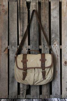Scissortail Clothing Company....reminiscent of the iconic Banana Republic safari bag.