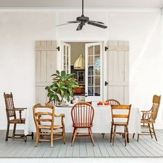 Alabama Farmhouse: The Back Porch
