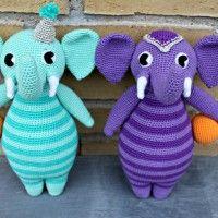Sonja og Saxo, cirkuselefanterne