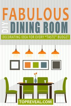 For me, the #diningroom in our home has always felt special to me, as it is the place where we #celebrate all the #holidays and big events in our #family. Check out some of our fabulous #DIY Dining Room #Decor Ideas will whet your appetite- for decor and food!