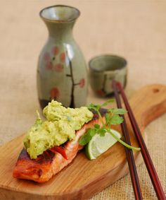 Soy Salmon with Avocado, Lime and Wasabi Salsa - Stuff.co.nz