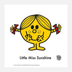 Little Miss Sunshine Print, 20€, now featured on Fab.