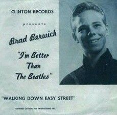 Brad Berwick, better than the Beatles.  At what? Chess? Spelling? Lawn darts?