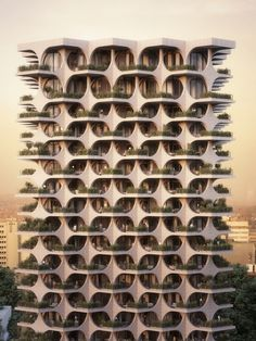 Gallery of Cascading Brick Arches Feature in Penda's Residential Tower in Tel Aviv - 16