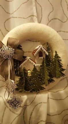 1 million+ Stunning Free Images to Use Anywhere Easy Christmas Ornaments, Christmas Makes, Noel Christmas, Holiday Wreaths, Rustic Christmas, Simple Christmas, Christmas Projects, Handmade Christmas, Holiday Crafts