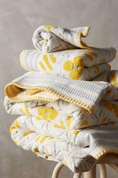 Ameera printed towel set from Anthropologie