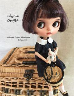*Blythe outfit・カンカン帽子・洋服set ♪* - ヤフオク!