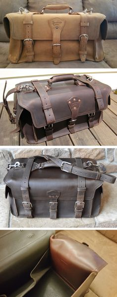 The evolution of the Side Pocket Duffel. Come see many, many more pictures!