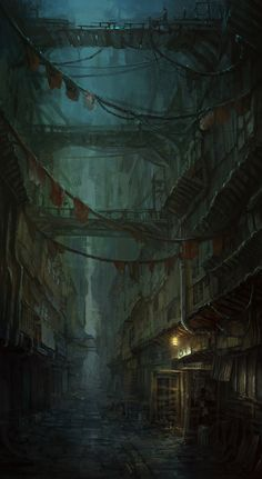 Alight the stars back cover inspired by fantasy art dark alley - Google Search