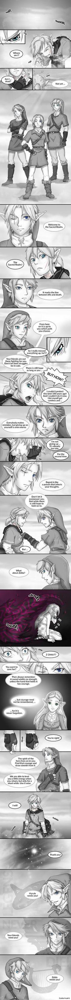 Legenda komiksów porno Zelda