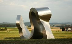 Stainless Steel Sculptures Created by Carlo Borer