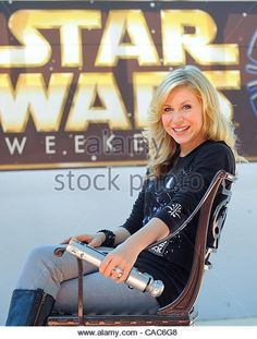 Ashley Eckstein Star Wars Stock Photos & Ashley Eckstein Star Wars ...