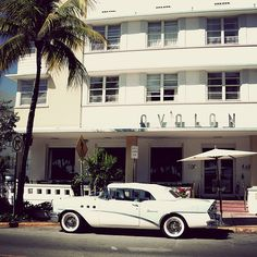 Miami Art Deco District. I would love to see all the delicious art deco architecture.