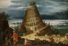 Local History: When Hawley fiddled with Father Time Local History, Ancient History, Art History, Turm Von Babylon, Pieter Bruegel, Tower Of Babel, Father Time, Fine Art Auctions, Dutch Artists