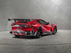 Mansory STALLONE F12, 2018 sports car, rear view wallpaper