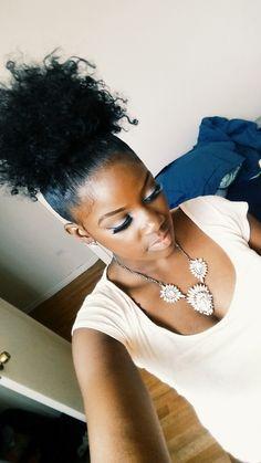 CurlsUnderstood.com: updo natural hair