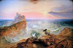 The Assuaging of the Waters - John Martin  1840